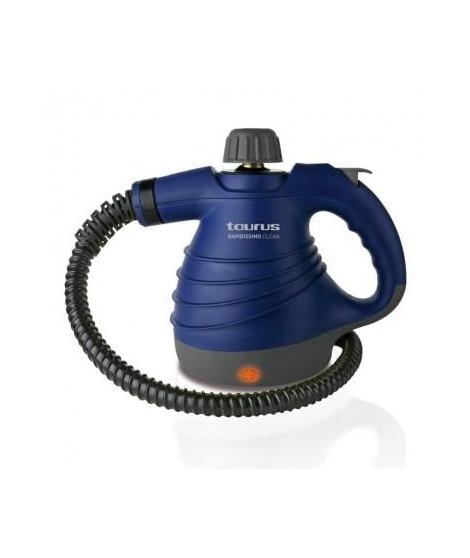 TAURUS 954504000 Nettoyeur vapeur Rapidissimo Clean - 1050 W - Noir et Bleu
