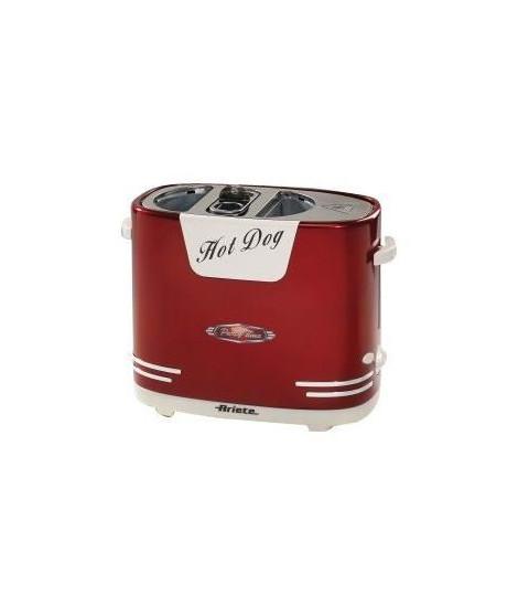 ARIETE 186 Appareil a Hotdog - 650W - Rouge