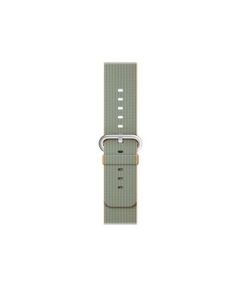 Apple Bracelet de montre connectée Woven Nylon Band pour iWatch - 42 mm - Or / Bleu Royal