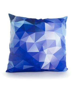 ANDORA Coussin déhoussable NESTOR 45x45 cm bleu et blanc