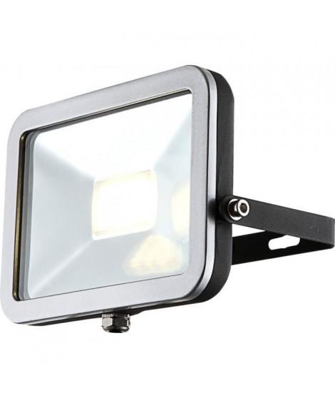 GLOBO LIGHTING Projecteur extérieur aluminium fonte gris métallisé gris - Verre translucide