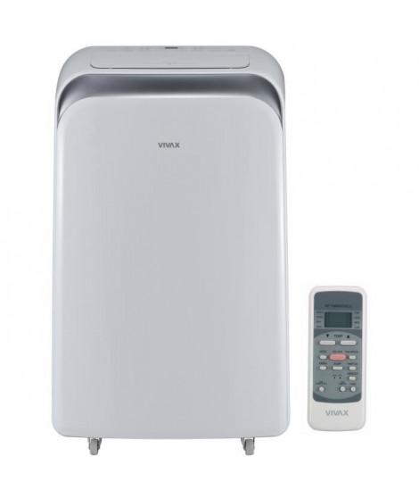 VIVAX Climatiseur électrique mobile 2500 watts - Télécommande - Classe A