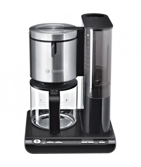 BOSCH Styline Cafetiere Programmable TKA8633 Noir/Inox 10 tasses