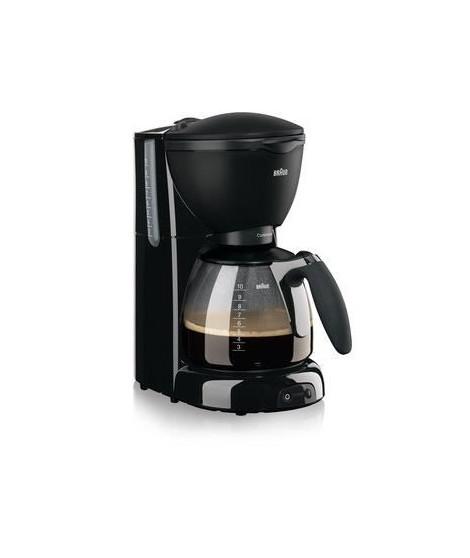 BRAUN KF560/1 BK Cafetiere a filtre - 10 tasses - Noir - 1100W