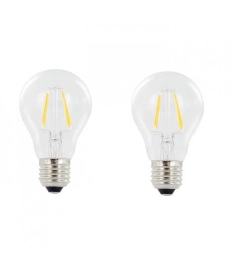 INTEGRAL LED Lot de 2 ampoules E27 filament 4 W équivalent a 40 W 2700 K 470 lm