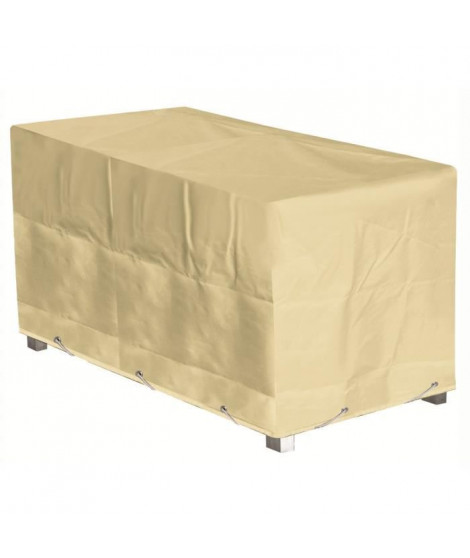 GREEN CLUB Housse de protection pour table - 180x90x65 cm - Beige