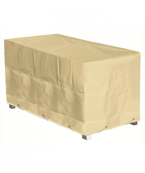 GREEN CLUB Housse de protection pour table - 180x112x65 cm - Beige
