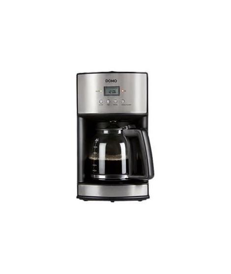 DOMO DO473K Cafetiere - 1.8L ou 14 tasses - Inox