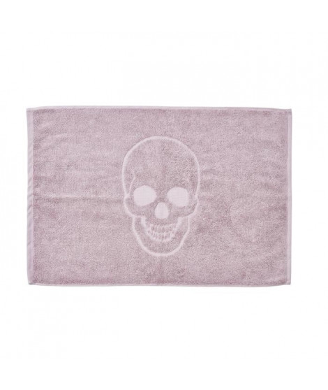 DONE Tapis de bain Skull - Vieux Rose - 50x70cm