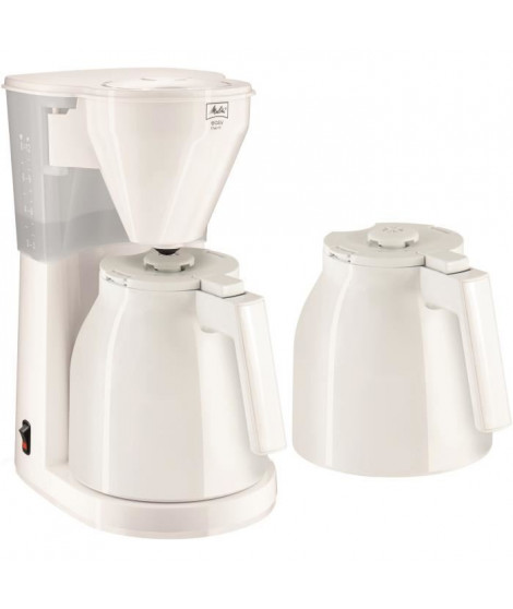 Cafetiere filtre - Melitta Easy Therm + 2eme verseuse 1010-051 Blanc