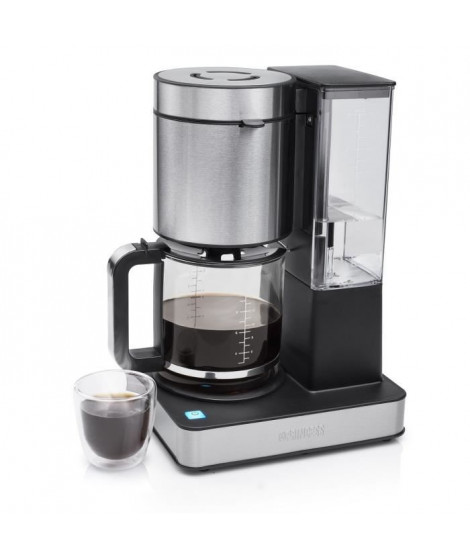 PRINCESS 246002 Cafetiere électrique a filtre 1000W  1.5 L - Inox