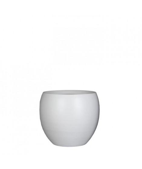 MICA DECORATIONS Lot de 3 Pots ronds Vera - Blanc