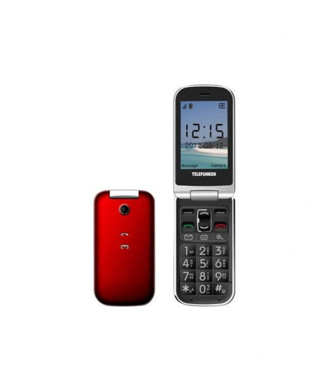 TELEFUNKEN Phone GSM TM 200 Rouge