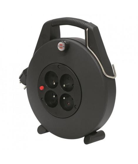 CONFORT-LINE CL-X Enrouleur noir 10m câble H05VV-F 3G1,5