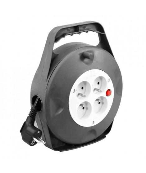 Enrouleur électrique HO5VVF 4 prises 3G1,5 10m