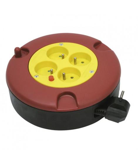 COGEX Dérouleur électrique 5m 16A 4 prises 3x1mm²