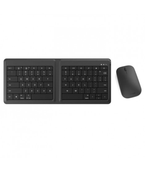 Microsoft clavier Universal Foldable Keyboard + souris Designer Bluetooth Mouse