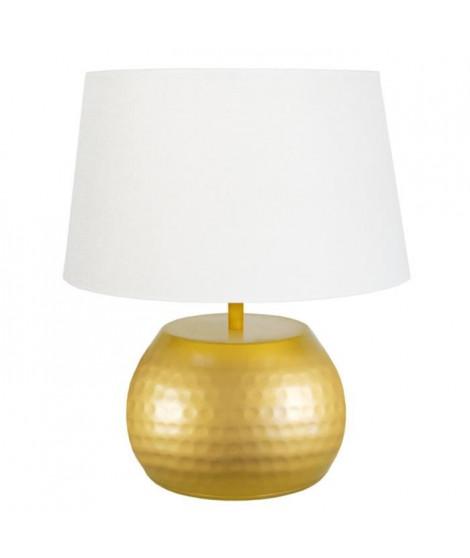 Lampe Bangalore 37 cm 20 W équivalent a 75 W blanc et jaune