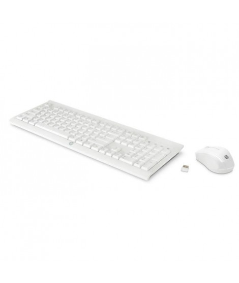 Pack HP clavier + souris C2710 Blanc