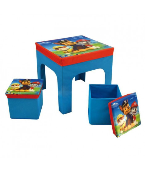 PAT'PATROUILLE Ensemble Table + 2 Tabourets
