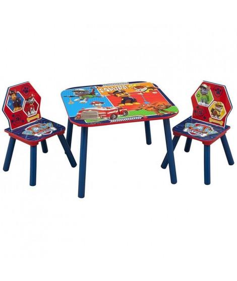 PAT PATROUILLE - Table enfant et 2 chaises enfant en bois