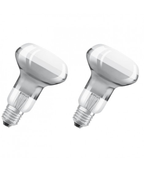 OSRAM Lot de 2 Ampoules Spot LED R63 E27 4,5 W équivalent a 33 W blanc chaud dimmable