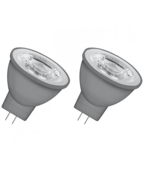 OSRAM Lot de 2 Ampoules spot LED MR11 GU4 2,9 W équivalent a 20 W blanc chaud