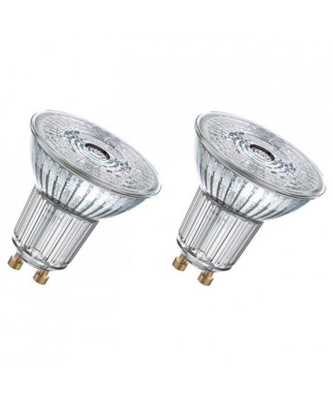 OSRAM Lot de 2 Ampoules spot LED PAR16 GU10 3,1 W équivalent a 35 W blanc froid dimmable