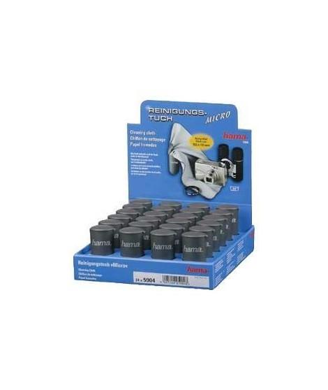 HAMA Chiffons de nettoyage en microfibres Micro - Présentoir de 24 pieces