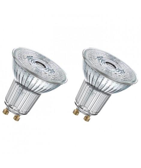 OSRAM Lot de 2 Ampoules spot LED PAR16 GU10 6,9 W équivalent a 80 W blanc froid