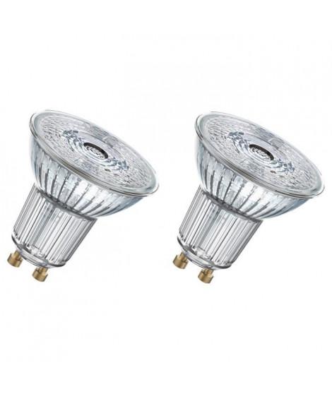 OSRAM Lot de 2 Ampoules spot LED PAR16 GU10 7,2 W équivalent a 80 W blanc froid dimmable