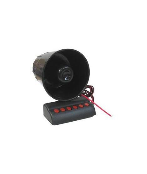 Sirene 6 Tons Différents 24V avec Connecteur