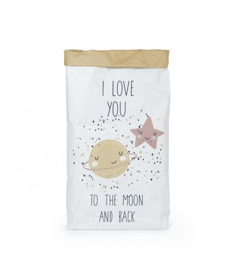 NAF NAF Sac De Rangement Love You To The Moon 13x60x90 cm