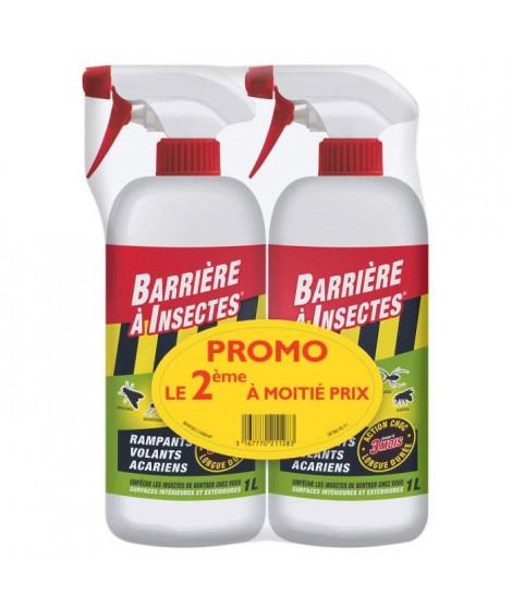 BARRIERE A INSECTES Insectes rampants, volants et acariens - Pret a l'emploi - Lot PROMO de 2x1 L