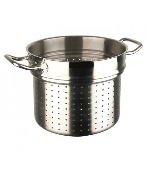 INOXIBAR Panier de cuisson a vapeur Ligne Professionnelle en inox - Ø 24 cm - 9,5 L