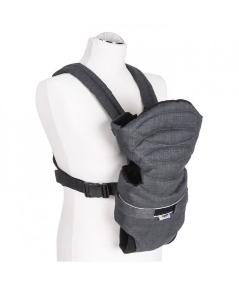 HAUCK porte bébé 2 way carrier - melange charcoal