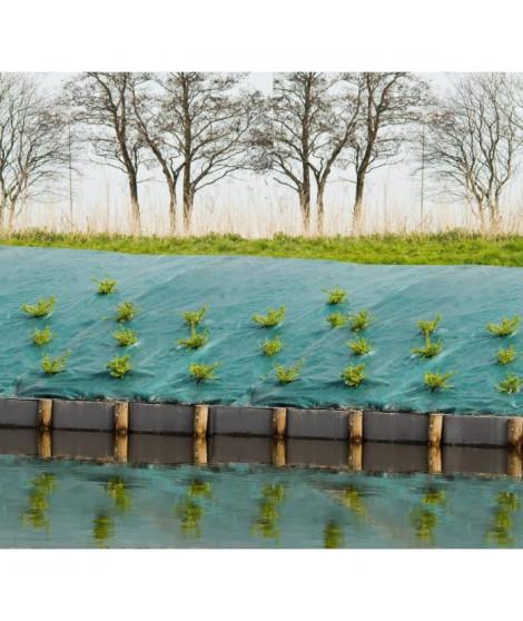 Toile de paillage paysages - vert 90 gr/m² - 1x25m