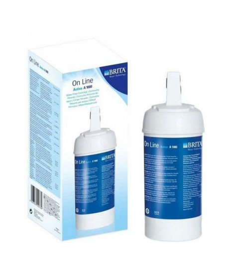 BRITA Cartouche A1000 pour filtre sous robinet ON LINE ACTIVE