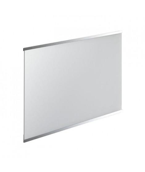 Fond de hotte en verre de 5mm d'épaisseur - Blanc - 90x70cm
