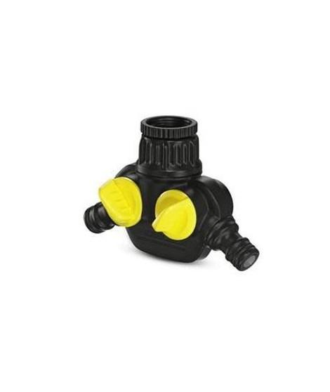 KARCHER Prise robinet - 2 sorties indépendantes et réglables