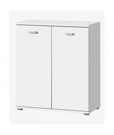 DIXI Buffet bas contemporain blanc laqué - L 61 cm