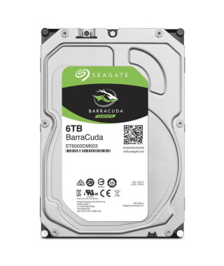 "Seagate BarraCuda 6 To (ST6000DM003) 3,5"" 5900 RPM"
