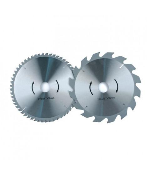 MANNESMANN Lame universelle pour scie circulaire - 190 x 30 mm - 14 dents