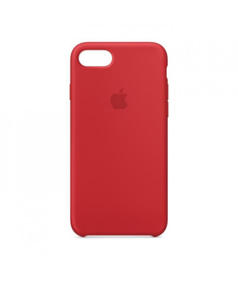 iPhone 8/7 Silicone Case - Red