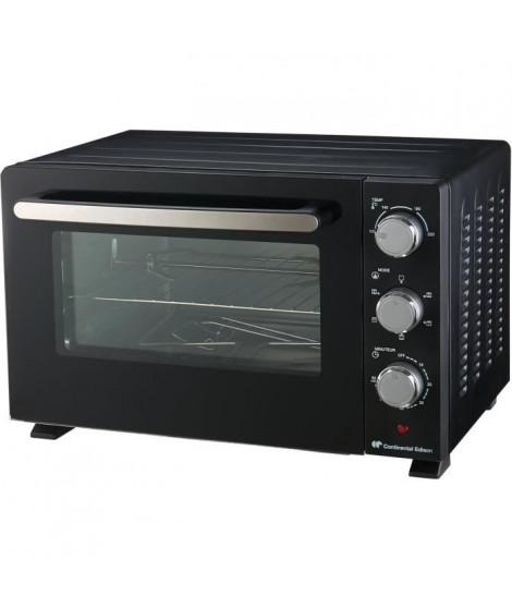 CONTINENTAL EDISON CEMF30B2 - Minifour électrique 30L noir - 1500W - Rotissoire, chaleur tournante
