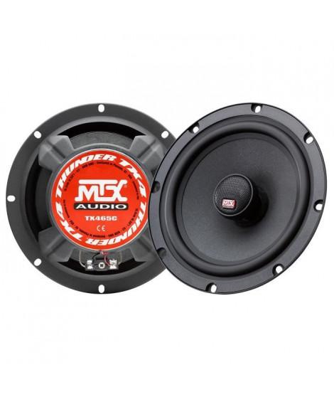 MTX Haut-parleurs coaxiaux 2 voies TX465C - 16,5 cm - 80W