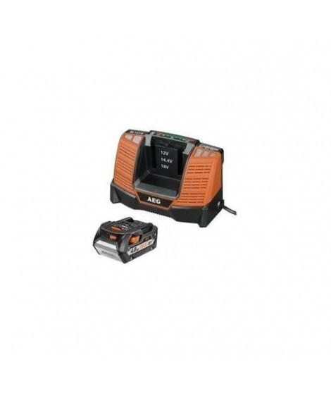 AEG Pack de chargeur et batterie SETL1840BL - 18 V - 4 Ah Li-ION