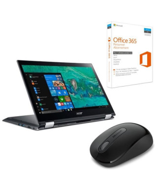 """ACER PC Portable Convertible Tactile Spin SP314-51-32TK 14"""" FHD - RAM 4Go - i3-6006U - Stockage 256Go SSD - Intel HD Graphics…"""