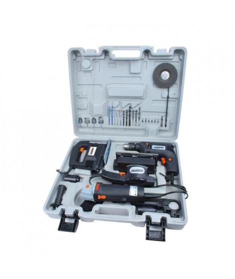 MANNESMANN Lot de 4 outils électriques
