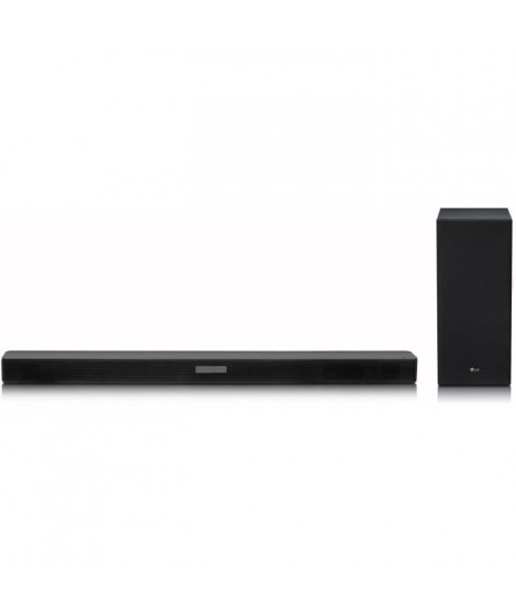 LG SK5 Barre de son - Bluetooth - Son haute résolution - DTS virtual X - 360 W - Noir